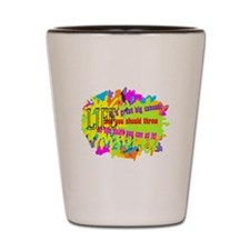 Life Is A Canvas-Danny Kaye/ Shot Glass