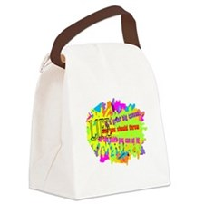 Life Is A Canvas-Danny Kaye/ Canvas Lunch Bag
