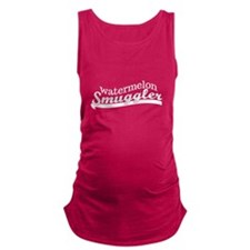 Watermelon Smuggler Maternity Maternity Tank Top