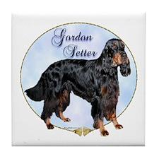 Gordon Portrait Tile Coaster