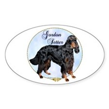 Gordon Portrait Oval Decal