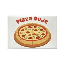 Pizza Dude Magnets