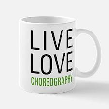 Live Love Choreography Small Small Mug