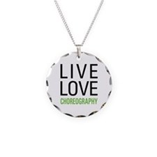 Live Love Choreography Necklace