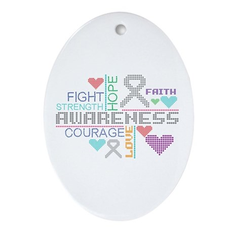 Diabetes Slogans Ornament (Oval)