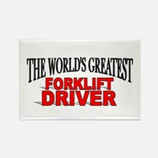 """The World's Greatest Forklift Driver"" Rectangle M"