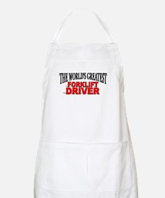 """""""The World's Greatest Forklift Driver"""" BBQ Apron"""