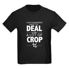 A Lot of Crop T-Shirt