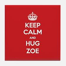 Hug Zoe Tile Coaster