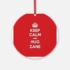 Hug Zane Ornament (Round)
