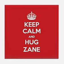 Hug Zane Tile Coaster