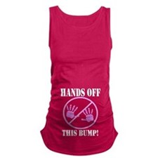 Hands Off this Bump Maternity Tank Top