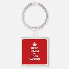 Hug Yasmin Keychains