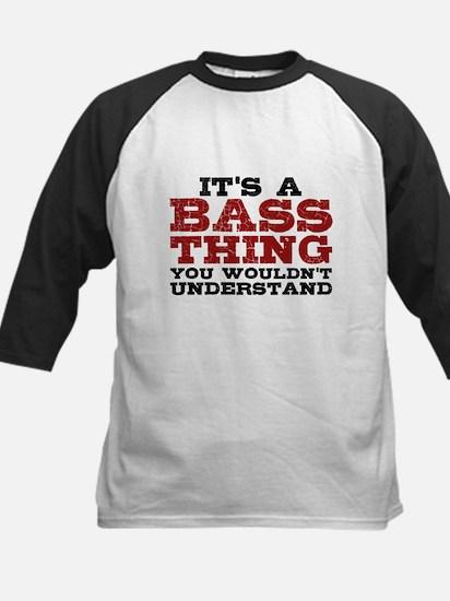 It's a Bass Thing Kids Baseball Jersey
