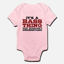 It's a Bass Thing Infant Bodysuit