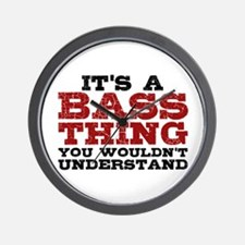 It's a Bass Thing Wall Clock