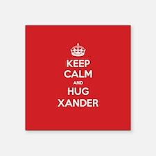 Hug Xander Sticker