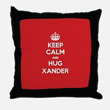 Hug Xander Throw Pillow