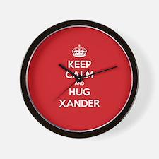 Hug Xander Wall Clock