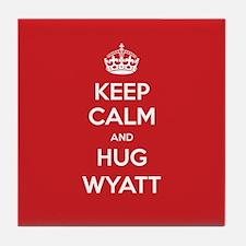 Hug Wyatt Tile Coaster