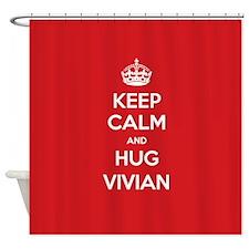 Hug Vivian Shower Curtain