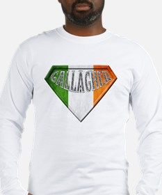 Gallagher Irish Superhero Long Sleeve T-Shirt