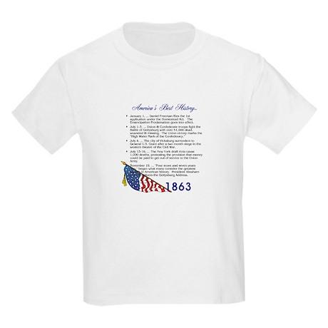 Timeline 1863 Kids Light T-Shirt