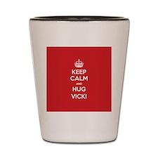 Hug Vicki Shot Glass