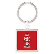 Hug Tyler Keychains