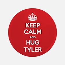 "Hug Tyler 3.5"" Button"