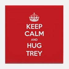 Hug Trey Tile Coaster