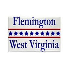 Flemington WV Rectangle Magnet