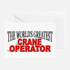 """The World's Greatest Crane Operator"" Greeting Car"