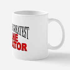 """The World's Greatest Crane Operator"" Mug"