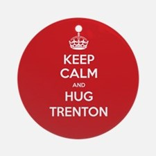 Hug Trenton Ornament (Round)