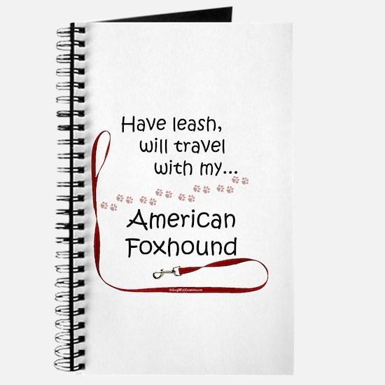 American Foxhound Travel Leash Journal