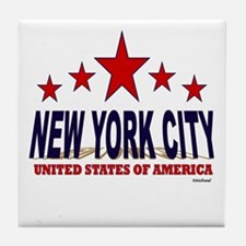 New York City U.S.A. Tile Coaster
