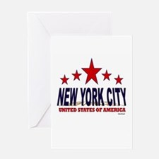 New York City U.S.A. Greeting Card