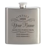 40th birthday Flask Bottles