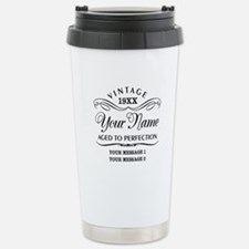 Personalize Funny Birth Thermos Mug