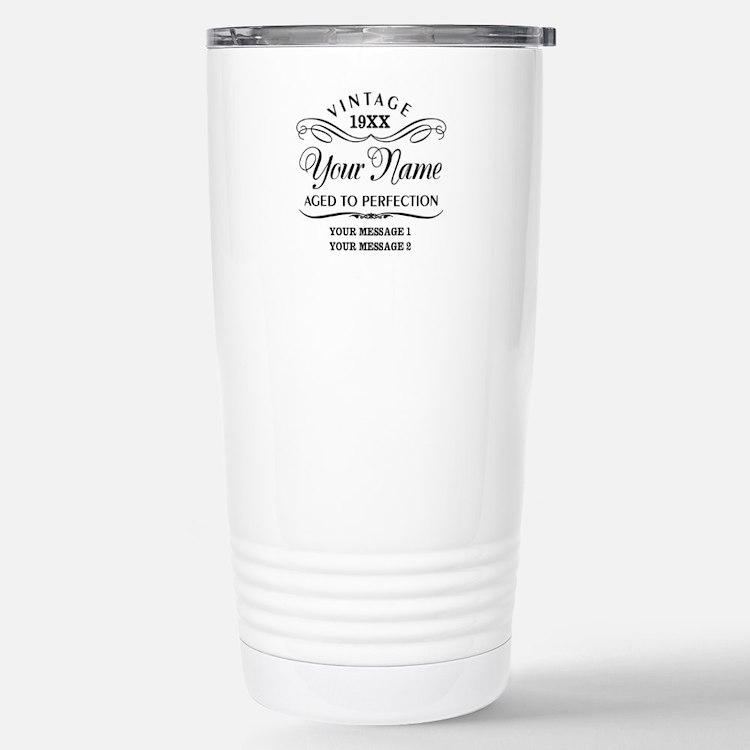 Personalize Funny Birth Travel Mug