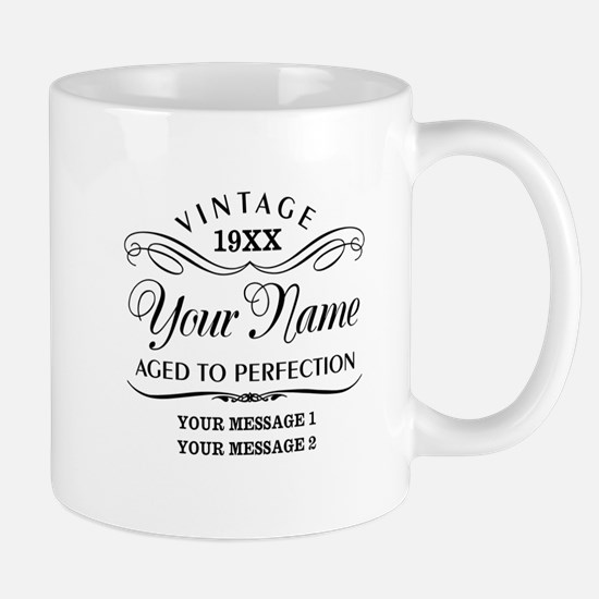 Personalize Funny Birthday Mug