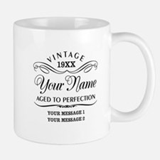 Personalize Funny Birthday Small Small Mug