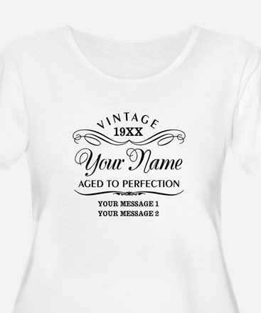 Personalize F T-Shirt