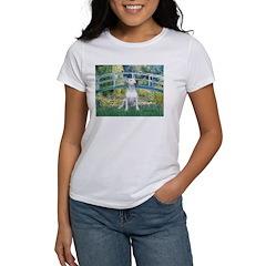 Bridge-BullTerrier (P) Women's T-Shirt