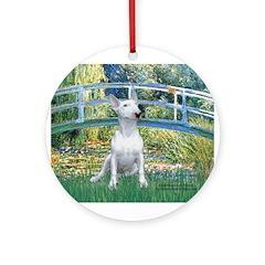 Bridge-BullTerrier (P) Ornament (Round)