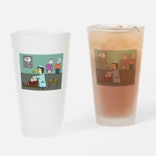 Neck Therapy Drinking Glass