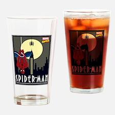 Moonlight Spiderman Drinking Glass