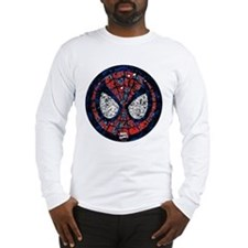 Spiderman Mask Long Sleeve T-Shirt