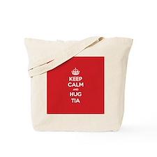 Hug Tia Tote Bag